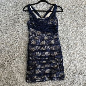 Express dress with ruching